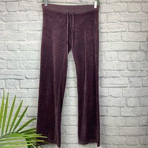 Juicy Couture Velour Track Pants 34P